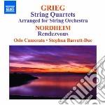 Quartetti per archi (arr. per orchestra cd musicale di Edvard Grieg
