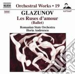Glazunov Alexander Kostantinovich - Les Ruses D'amour cd musicale di Glazunov alexander k