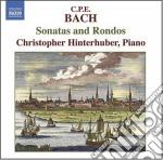 Sonatas and rondos cd musicale di Bach carl philip ema