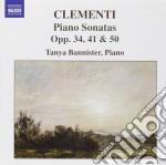 Clementi Muzio - Sonata Per Pianoforte Op.34 N.2, Op.41, Op.51 N.1 cd musicale di Muzio Clementi