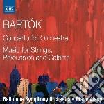 Bartok Bela - Concerto Per Orchestra  Musica Per Archi, Celesta E Percussioni cd musicale di Bela Bartok