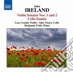 Ireland John - Sonata Per Violino, Sonata Per Violoncello cd musicale di John Ireland