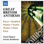 Great british anthems cd musicale di Miscellanee