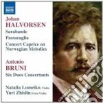 Halvorsen Johan - Sarabande Con Variazioni, Passacaglia, Concert Caprice Su Melodie Norvegesi cd musicale di Johan Halvorsen