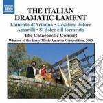 The italian dramatic lament cd musicale