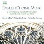 English choral music cd musicale di Miscellanee