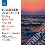 Kreisler Fritz - Quartetto Per Archi In La Minore cd musicale di Fritz Kreisler