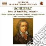 Schubert Franz - Lied Edition, Vol.21 - Poets Of Sensibility Vol.4 cd musicale di Franz Schubert