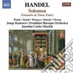 Solomon hwv 67 cd musicale di Handel georg friedri