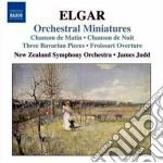 Elgar Edward - Orchestral Miniatures cd musicale di Edward Elgar