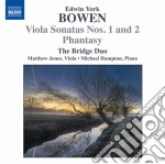York-bowen Edwin - Sonata Per Viola N.1 Op.18, N.2 Op.22, Phantasy Op.54 cd musicale di Bowen edwin york