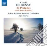 24 preludi (orch. peter breiner) cd musicale di Claude Debussy