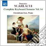 Sonate per tastiera, (integrale), vol.14 cd musicale di Domenico Scarlatti