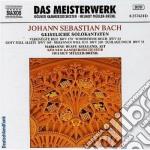 Bach J.S. - Cantate Per Contralto Vol.1: Bwv 53, 54, 169, 170, 200 cd musicale di Johann Sebastian Bach