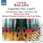 Balada Leonardo - Caprichos N.1, N.5  A Little Night Music In Harlem, Reflejos cd musicale di Leonardo Balada