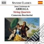 Quartetti per archi (integrale) cd musicale di Arriaga juan crisost