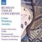 Arensky Anton Stepanovich - Concerto Per Violino cd musicale di Arensky anton stepan