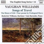 Vaughan Williams Ralph - Songs Of Travel, The House Of Life, Linden Lea, 4 Poems By Fredegond Shove cd musicale di Vaughan williams ral
