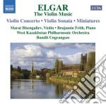 The violin anthology (integrale delle op cd musicale di Edward Elgar