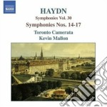 Haydn Franz Joseph - Sinfonia N.14, 15, 16, 17 cd musicale di Haydn franz joseph