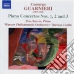 Guarnieri Camargo - Concerto Per Pianoforte N.1, N.2, N.3 cd musicale di Camargo Guarnieri