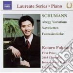 Schumann Robert - Variazioni Abegg Op.1, Novelletten Op.2, 3 Fantasiestucke Op.111 cd musicale di Robert Schumann