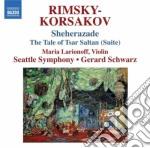 Nikolay Rimsky-korsakov - Sheherazade, La Favola Dello Zar Saltan cd musicale di Rimsky korsakov niko