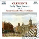Clementi Muzio - Early Piano Sonatas, Vol.2 cd musicale di Muzio Clementi