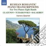 Tchaikovsky - Arrangements For 2 Pianos 8 Hands cd musicale di Ciaikovski pyotr il'