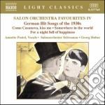 Heymann Werner Richard - Salon Orchestra Favourites Vol.4 cd musicale di Heymann werner richa