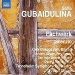 Sofia Gubaidulina - Fachwerk, Silenzio cd musicale di Sofia Gubaidulina