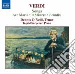 Verdi Giuseppe - Arie Da Camera cd musicale di Giuseppe Verdi