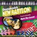 New babylon (colonna sonora) cd musicale di Dmitri Sciostakovic