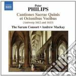 Cantiones sacrae quinis et octonibus voc cd musicale di Peter Philips