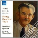 Hill Alfred - Quartetti Per Archi, Vol.4: Nn.10, 11 cd musicale di Alfred Hill