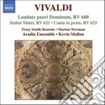 Vivaldi Antonio - Laudate Pueri Dominum Rv 600, Stabat Mater Rv 621 cd musicale di Antonio Vivaldi