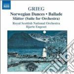 Grieg Edvard - Musica Orchestrale,  Vol.2: Orchestrazioni Dei Brani Per Pianoforte cd musicale di Edvard Grieg