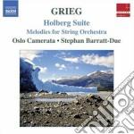 Grieg Edvard - Holberg Suite, Melodies Per Archi cd musicale di Edvard Grieg