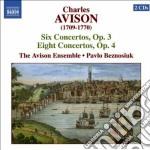 Concerti: 6 concerti op.3, 8 concerti op cd musicale di Charles Avison