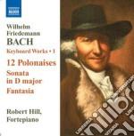 Opere per tastiera (integrale), vol.1 cd musicale di Bach wilhelm friedma