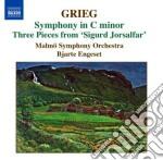 Grieg Edvard - Musica Orchestrale, Vol.3 cd musicale di Edvard Grieg