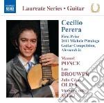 Brouwer Leo - Sonata Per Chitarra - Cecilio Perera Guitar Recital cd musicale di Cecilio Perera