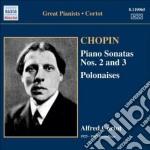Chopin Fryderyk - Sonata Per Pianoforte N.2, N.3, Grande Polacca Brillante, Polacche Nn.6 E 7 cd musicale di Fryderyk Chopin