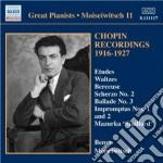 Chopin Fryderyk - Improvvisi, Valzer, Mazurche, Notturni,... cd musicale di Fryderyk Chopin