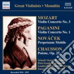 Mozart Wolfgang Amadeus - Concerto Per Violino N.3 K 216 cd musicale di Wolfgang Amadeus Mozart