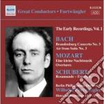 Bach J.S. - Concerto Brandeburghese N.3, Aria Sulla Quarta Corda cd musicale di Johann Sebastian Bach