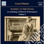Women at the piano, vol.5 cd musicale di Miscellanee
