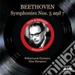 Beethoven Ludwig Van - Sinfonie N.5 Op.67, N.7 Op.92 cd musicale di Beethoven ludwig van