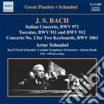 Bach J.S. - Concerto Italiano, Fantasia Cromatica E Fuga, Preludio N.2, 5 Toccate cd musicale di Johann Sebastian Bach