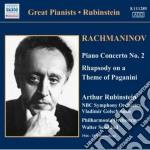 Concerto per pianoforte n.2 op.18, rapso cd musicale di Sergei Rachmaninov